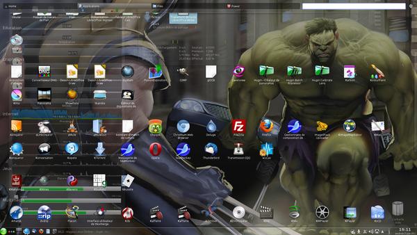 Montrez nous votre bureau kde gnome xfce autres for Ubuntu decoration fenetre