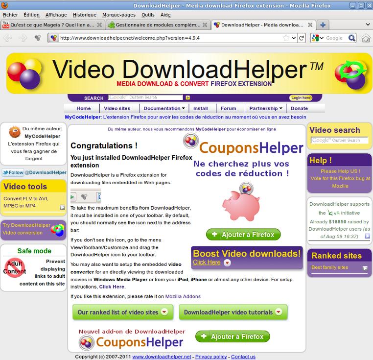 Comment enregistrer une vidéo d'internet avec Firefox